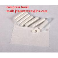 Buy cheap Hand Compress towels with your logo  from wholesalers