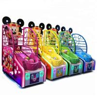 Buy cheap Arcade Mickey Basketball Shooting Game Machine Metal Cabinet Firm And Durable from wholesalers