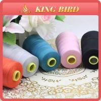 Buy cheap Eco-Friendly 100% Spun Polyester Sewing Thread 5000m Various Colors from wholesalers