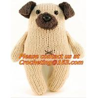 Buy cheap 100% Hand Knit Toy, Handmade Crocheted Doll, Crochet Stuffed Toy Doll,knitting patterns to from wholesalers