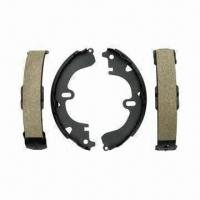 China Brake shoes of various linings, good braking power and excellent friction performance on sale