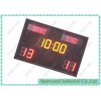 Buy cheap LED Single Sided Electronic Football Score Boards Scorer Scoring cards from wholesalers