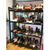 Buy cheap Black Modular Shoe Store Display Shelves Stable Structure For Shoe Specialty Stores from wholesalers