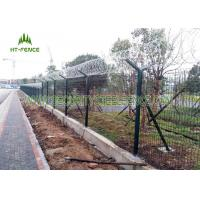 Buy cheap 1.73 × 2.5m Welded Mesh Fence / Pvc Coated Welded Wire Mesh PanelsFor Factory from wholesalers