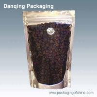 Wholesale Laminated Aluminium Foil Coffee Packaging Bags , Coffee Powder Stand Up Pouch With Zipper from china suppliers