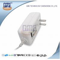 Wholesale AC DC 12V 2A Power Adapter , US Overseas Plug Adapters CEC Level VI from china suppliers