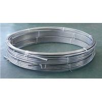 Buy cheap Inconel Alloy 625(UNS N06625)Seamless Coiled coil Subsea umbilical Down hole Chemical Injection Hydraulic Control Lines from wholesalers