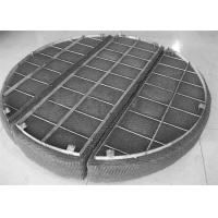 Buy cheap Flexible Wire Mesh Demister Pad Stainless Steel Grid Frame Wear Resistance from wholesalers