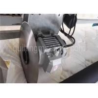 3 Phase Bedding Textile Mattress Cutting Machine Touch Screen Stainless Blades