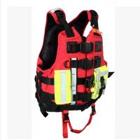 Buy cheap Adult Flotation Fluid Marine Life Jacket High Brightness Open Sided from wholesalers