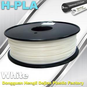 China Temperature Resistance 3D Printer Filament PLA Filament 1.75mm 1.3kg / Roll on sale
