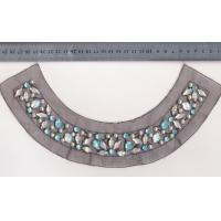 Multi Colours Dress / Skirt Circles Bead Collar Pearl and Beads Manufactures