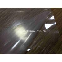 Nature / Transparent Silicone Rubber Sheet Roll With Protective Film Commercial Manufactures