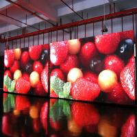 Buy cheap 1000cd Outdoor Led Video Display Board , P6 Full Color Led Display For Advertising from wholesalers