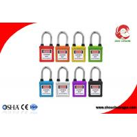 Wholesale Colorful Dust-proof Electrical Safety Padlock OSHA CE ROHS Xenoy Safety Padlock Lockouts from china suppliers