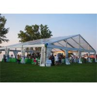 Buy cheap Beautiful PVC Coated Fabric Clear Roof Tent Outdoor Party Use With Decorations from wholesalers