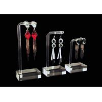 Buy cheap Modern Design Clear Acrylic Jewelry Display Stands For Show Decoration from wholesalers