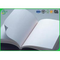 Wholesale White Uncoated Offset Printing Paper  60g 70g 80g For A4 A3 A5 Size from china suppliers