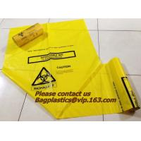 Buy cheap Autoclave waste bag, Specimen bags, autoclavable bags, sacks, Cytotoxic Waste Bags, biobag from wholesalers