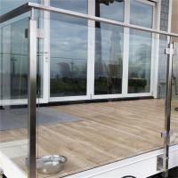 Buy cheap China stainless steel balustrade suppliers with square post from wholesalers