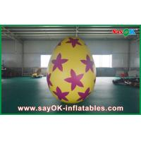 Buy cheap 6m Inflatable Holiday Decorations Pvc Easter Egg for Advertising / Party from wholesalers