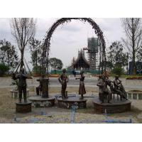 Wholesale Musician urban city decoration statue sculpture from china suppliers
