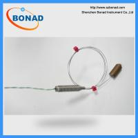 Buy cheap bent 310 stainless steel sheath thermocouple used to Needle Flame Tester IEC60695 from wholesalers