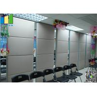 MDF Folding Partiion Walls for Home , Meeting Room Movable Partition Walls