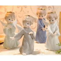 Buy cheap Hand-painted ceramic angel household ornaments from wholesalers