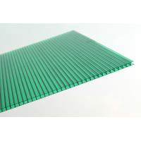 Buy cheap Anti Fire Green Plastic Corrugated Roofing Sheets , Polycarbonate Wall Panels from wholesalers
