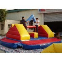 Buy cheap Exciting Fight Inflatable Sports Games for 2 People Sitting On a Balance Beam from wholesalers