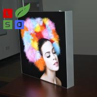 Wholesale Wall Mounting LED Fabric Light Box Single Side Frameless For LED Shop Display from china suppliers