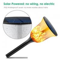 China Solar light outdoor landscape courtyard Fire Torch flame torch 96led street lamp garden plugged lawn lamp LED on sale