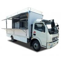 Buy cheap BVG Street Mobile Vending Trucks , Fast Food BBQ Mobile Restaurant Van from wholesalers