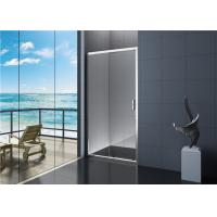 Buy cheap Villa 6mm Tempered Glass Sliding Shower Door with Handle EN12150 from wholesalers