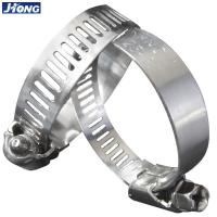 Buy cheap American/German Type  Stainless Steel Hose Clamp,Pipe Metal Tie from wholesalers