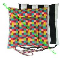 Buy cheap Cotton Dining Chair Cushions , Custom Decorative Floor Cushions for Car Seat from wholesalers