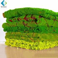 Wholesale Micro Artificial Vertical Garden , Customized Landscape Decor Fake Moss Mat from china suppliers