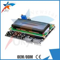 Buy cheap LCD 2x16 (Blue) Display keypad LCD Shield with 6 push buttons LCD display module from wholesalers