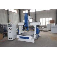China 6kw Air Cooled Spindle CNC Wood Cutting Machine 380V / 220V 50HZ For Woodworking on sale