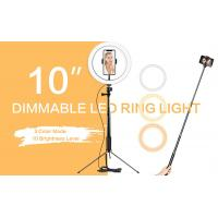 Buy cheap Dimmable Lamp Selfie LED Ring Light Makeup Live Stream Youtube With Tripod Stand from wholesalers