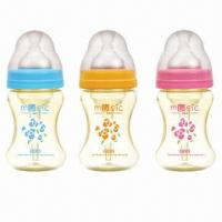 Buy cheap Anti-colic Wide Neck Feeding Bottle with Capacity of 5oz from wholesalers