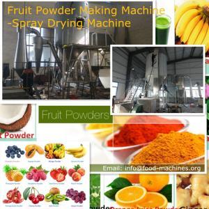 Fruit Powder Making Machine-Spray Drying Machine Manufactures