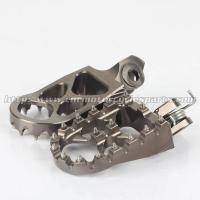 Buy cheap Aluminum Adjustable Foot Pegs For Motorcycles from wholesalers