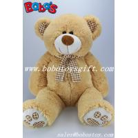 Wholesale 19.7 ECO-Friendly Material Cute Kids Plush Toys Plush Teddy Bear With Check Design Scarf from china suppliers