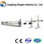 Buy cheap electric building steel zlp suspended platform/630kg/800kg steel cradle/gondola from wholesalers