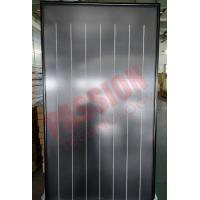Buy cheap Flat Plate Solar Collector Black Chrome Flat Sun Collector Solar Water Heater from wholesalers