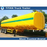 Buy cheap 40000 Liters milk tanker trailer , 1 3 5 compartment pneumatic tank trailers product