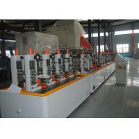 Buy cheap Metal Steel Round / Square Pipe Making Machine High speed Max 120m/min from wholesalers