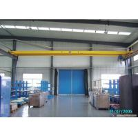 Buy cheap IP65 Single Beam Overhead Crane 1-20t Rated Loading Capacity For Workstation Easy Maintenance from wholesalers